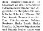 Odenkirchner Nachrichten 2.02.2016 -- Spendenübergabe Förderverein Odenkirchen