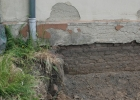 Dachentwässerung Rückseite links
