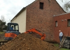 Freilegung Grundmauer 1