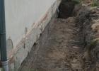 Grundmauer Schule u. 1. Anbau 1