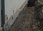 Grundmauer Schule u. 1. Anbau 2