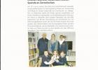 Spendenübergabe Zornröschen - 24.03.2015